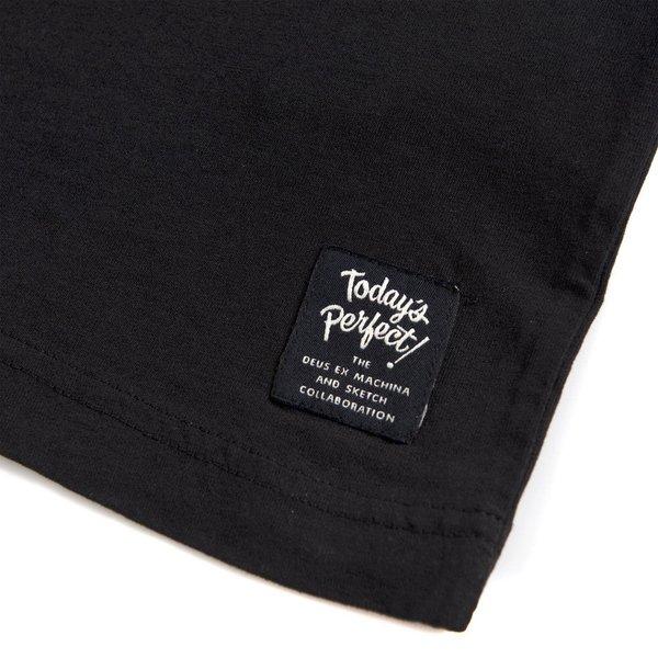"DEUS EX MACHINA Shirt - ""Today's Perfect Tee"" - schwarz"