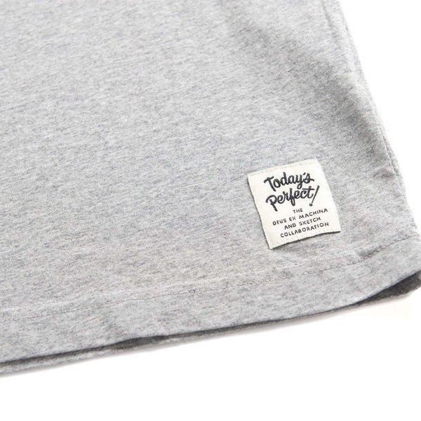 """DEUS EX MACHINA Shirt - """"Too Fast Tee"""" grau"""